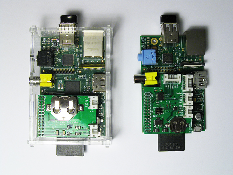 Raspberry Pi Serial Shields